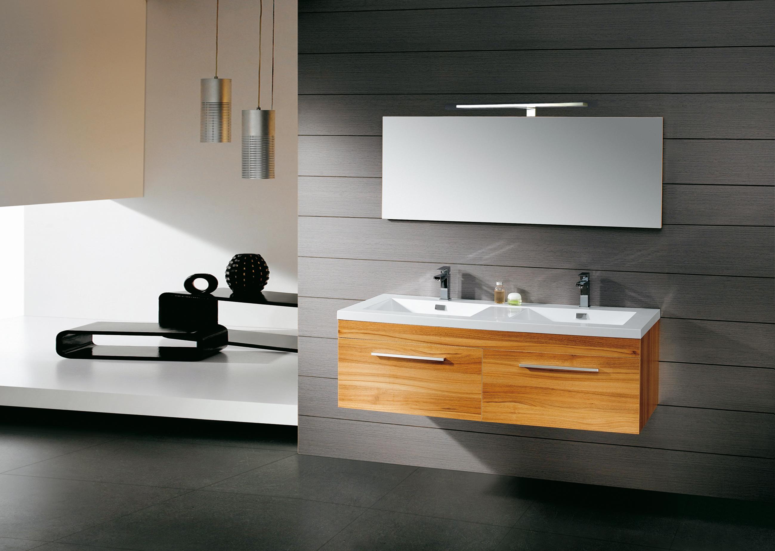 LED Lampe IS020-600A- rein weiß für Badezimmer / Spiegel ...