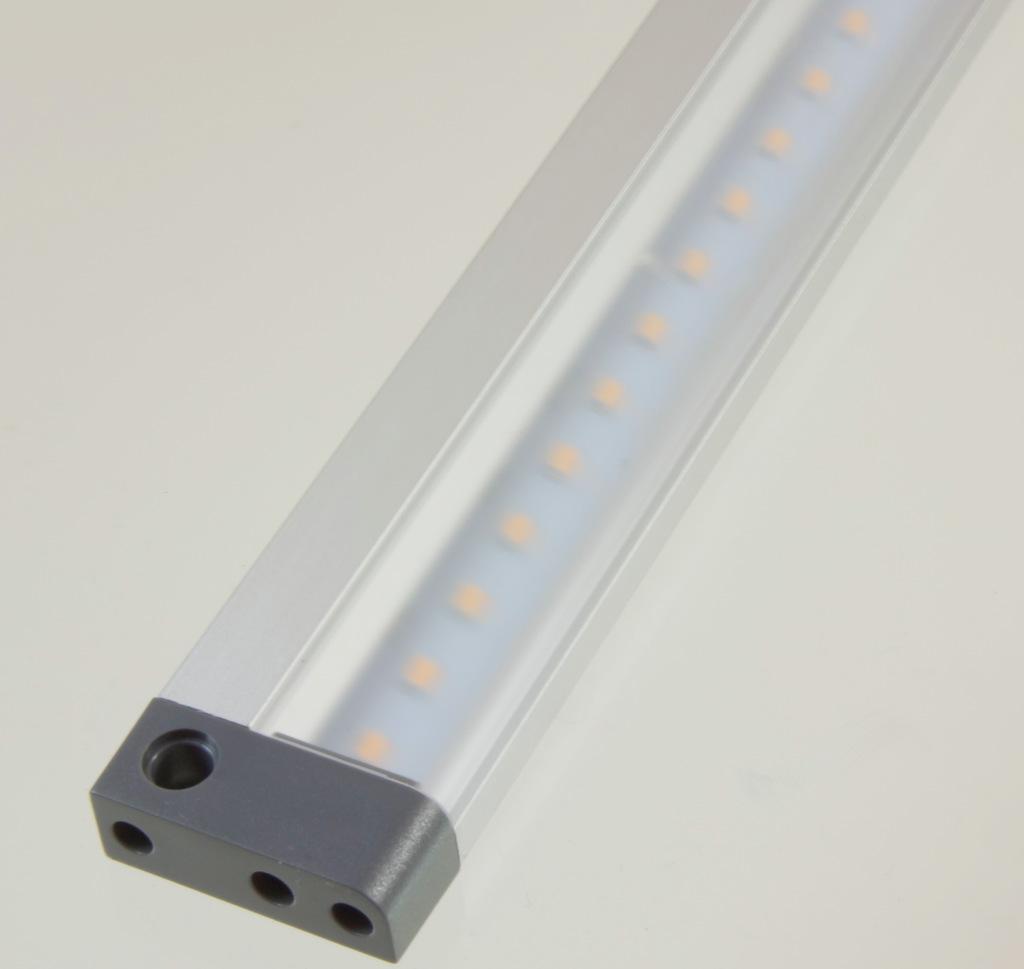Led schrank m bel leuchte leiste e ir sensor 50 cm for Schrank unterbauleuchte