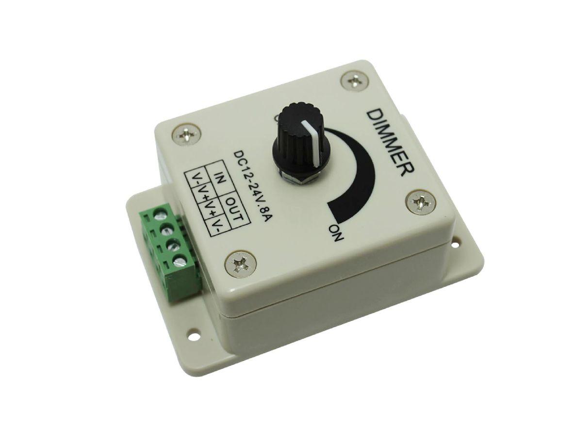 12V 8A LED Dimmer für LED Stripes / Lampen / Module